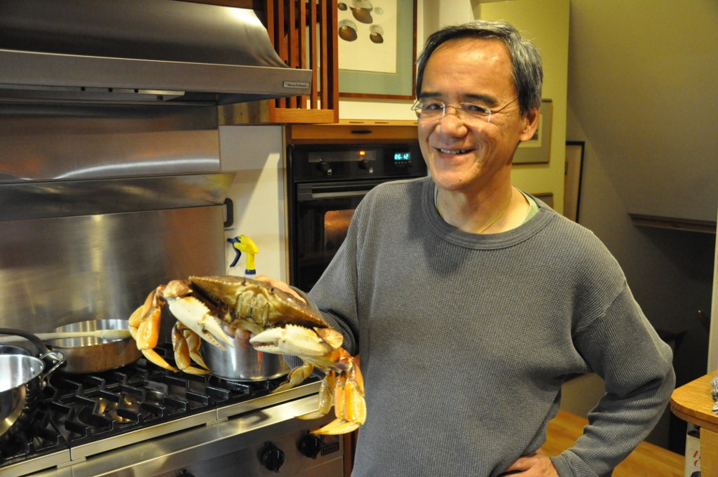 Roger Fong and dungeness crab