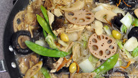 The vegetarian dish known as jai, rhymes with pie, is a popular dish during Chinese New Year. It is also served in monastery dining rooms and at funeral banquets. A large […]